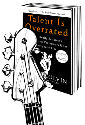 Talent Is Overated, Book